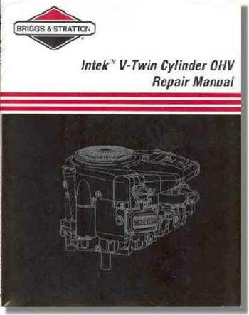 273521 briggs   stratton intek v twin overhead valve  ohv briggs and stratton 5hp quantum engine service manual briggs and stratton engine service manual pdf